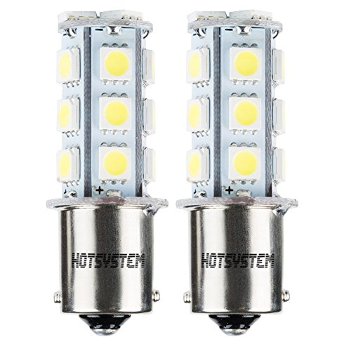 HOTSYSTEM 1156 18 LED SMD Light Bulbs For RV SUV MPV Car Turn Tail Signal Brake Light Lamp Backup Lamps White