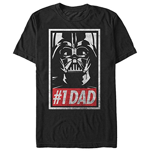 Star-Wars-Darth-Vader-Number-One-Dad-Mens-Graphic-T-Shirt