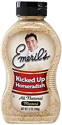Emeril's All Natural Mustard - Horseradish - 12 oz