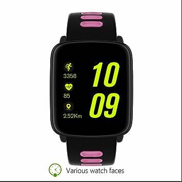 Relojes Deportivo Intelligent Pulsera con Notificación de WhatsApp contador de calorías Monitor de Sueño Control de Cámara Contador de Pasos Pulsera ...