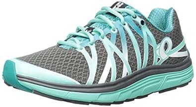 Pearl Izumi Women's W EM Road N 3 Running Shoe, Shadow Grey/Aqua Mint, 5 B US