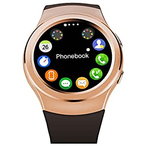 G3 Smartwatch reloj Bluetooth Smart Watch para iPhone 6 / 6 Plus / 5S Samsung S6 Nota 4 HTC Android teléfono Smartphones Android desgaste Austec