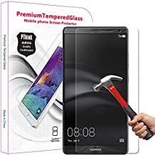 Huawei Mate 8 Screen Protector, PThink® Tempered Glass Screen Protector for Huawei Mate 8 with 9H Hardness/Anti-scratch/Fingerprint resistant