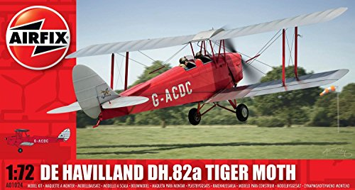 Airfix A01024 De Havilland DH.82a Tiger Moth Model Kit (1:72 Scale)