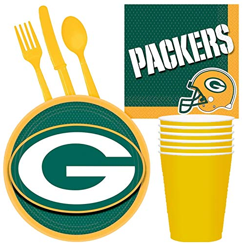 Costume SuperCenter NFL Green Bay Packers Tailgate Party Pack (for 16 Guests)