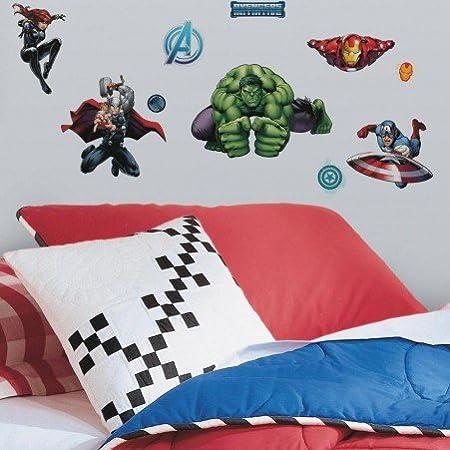 Pared Adhesivo Decorativo Pared Tattoo - Avengers - Marvel ...