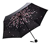 Fidus Mini Compact Sun&Rain Travel Umbrella - Lightweight Portable Umbrella with 95% UV Protection