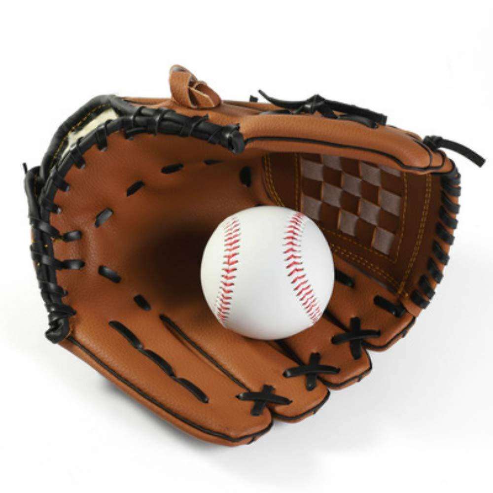 Weikeya Baseball Gloves Left-Handed -Adjustable Synthetic Leather Baseball Gloves — Baseball Mitt — Multiple Colors