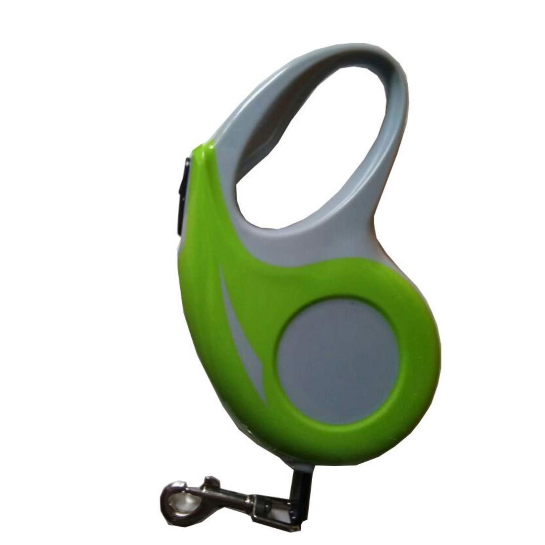 GREEN Small GREEN Small Souliyan 360° Tangle-Free, Heavy Duty Retractable Dog Leash with Anti-Slip Handle Strong Nylon Tape (color   Green, Size   S)