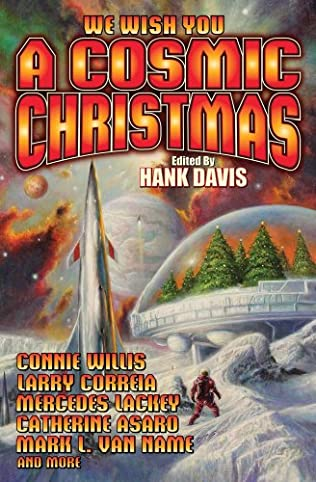 book cover of A Cosmic Christmas