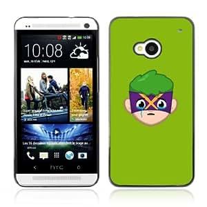 YOYOSHOP [Funny Face Illustration] HTC One M7 Case