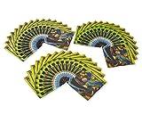 American Greetings Nickelodeon Teenage Mutant Ninja Turtles Paper Party Napkins, Lunch Napkins, 48-Count