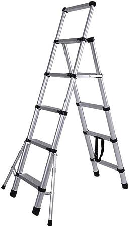 Step Stool Wooden- Escaleras De Tijera Escalera Telescópica Plegable Portátil, Taburete Multiusos para Escalones, Máx. 150 Kg Welcome: Amazon.es: Hogar