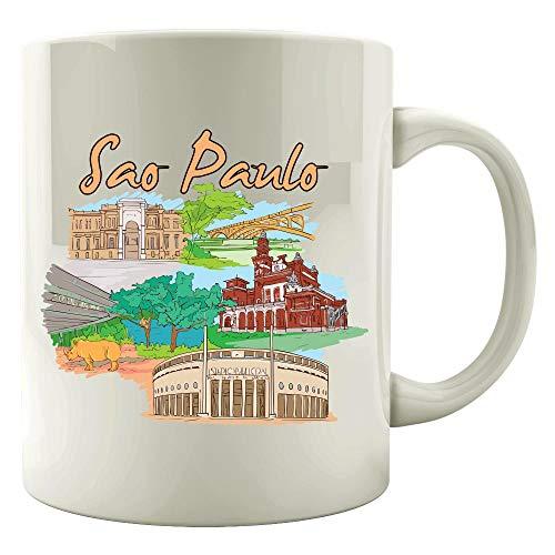 Sao Paulo Brazil - Beautiful Places Around The World - Colored Mug