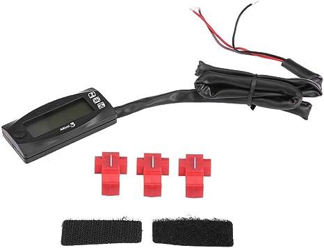 12v Voltmeter 1 Pc Mini 3 In 1 Anzeige Motorrad Lufttemperatur Und Uhr Und Voltmeter Spannungsmesser Küche Haushalt