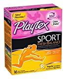 Playtex Tampons Sport Fresh Balance Regular 16 Ct (2 Pack)