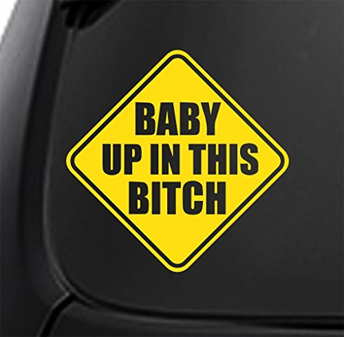 Bitch Vinyl Decal Sticker Window product image
