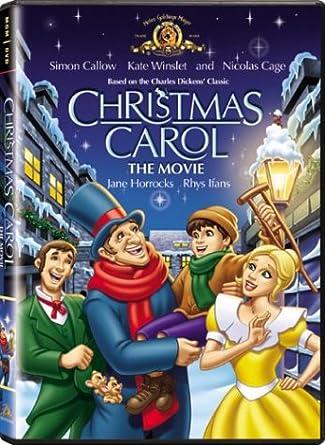 Amazoncom Christmas Carol The Movie Simon Callow Kate Winslet