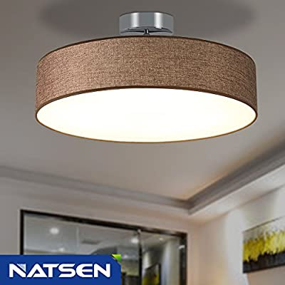 NATSEN 33W LED Ceiling Light Flush Mount Ceiling Lights Flush Ceiling Lights for Living Room,Bedroom, Dining room, lights uniformly