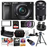 Sony Alpha a6000 24.3 MP Mirrorless ILC with 16-50mm and 55-210mm...