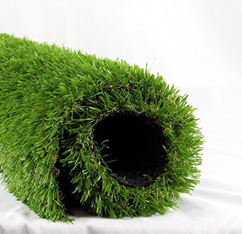 FOREST GRASS Artificial Grass Artificial Lawn Grass Artificial Grass Rug Artificial Turf Grass (3.3 ft x 5 ft = 16.5 square ft) - Forest Square Rug