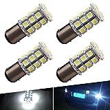 1157 led bulb rv - YINTATECH 4x Super White 6000K LED Car Lights Bulb 1157 BAY15D 27SMD 5050 Car RV Turn Signal Parking Lights 7528 2057 2357 DC 12V