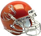 NCAA Boise State Broncos Orange Mini Helmet, One Size, White