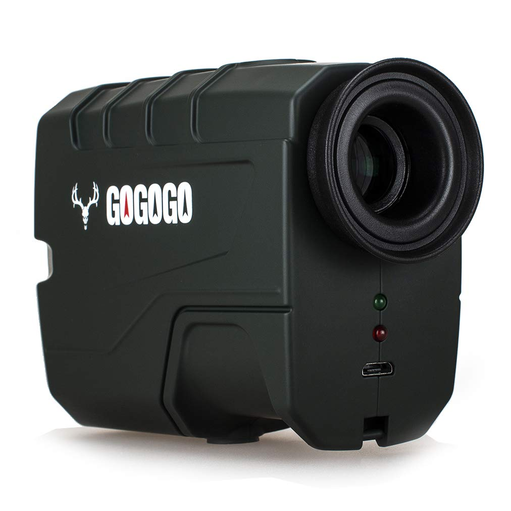 Gogogo Sport Hunting Rangefinder - 650 Yards Laser Range Finder for Hunting and Golf with Speed, Slope, Scan and Normal Measurements by Gogogo Sport