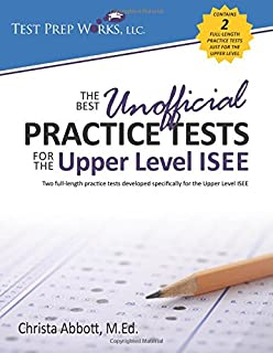 Five practice tests for the upper level isee chad mills the best unofficial practice tests for the upper level isee fandeluxe Choice Image