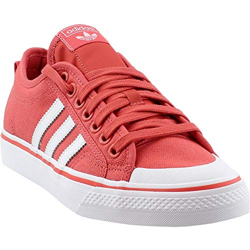 (adidas Mens Nizza Athletic Shoes Red 10 )