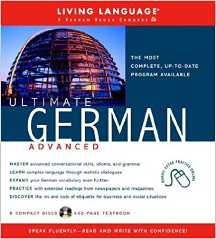 Amazon ultimate german advanced book and cd set includes ultimate german advanced book and cd set includes comprehensive coursebook and 8 audio cds ultimate advanced unabridged edition fandeluxe Choice Image