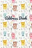 img - for Address Book: Cute Cat Pattern Cover Design. Keep Your Contacts in The One Place. book / textbook / text book