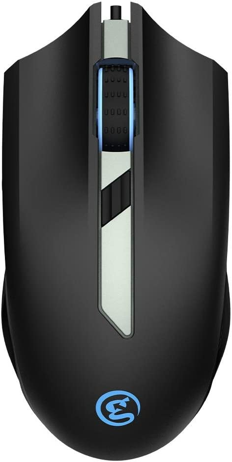 GameSir GM100 Gaming Mouse Wired Ergonomic Game USB Computer Mice RGB Gamer 6 Buttons Desktop Laptop PC Gaming Mouse