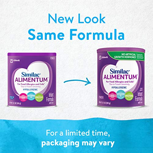 Similac Alimentum Hypoallergenic Infant Formula for Food Allergies and Colic, Baby Formula, Powder, 12.1 ounces (Pack of 6) by Similac (Image #3)