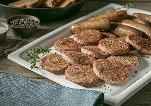 Burgers' Smokehouse Whole Hog Pork Country Sausage (72 Smoked Patties)