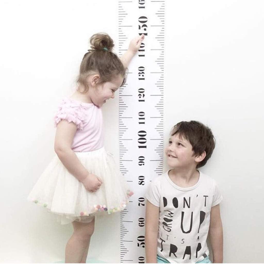 Kweeniny Wall Hanging Baby Child Kids Height Measure Ruler Children Growth Sticker