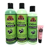8 to 10 leave in conditioner - Okay Pure Naturals Olive Shampoo & Conditioner 12 Oz and Leave-in Conditioner 8 Oz Conditioning and Healthy Shine