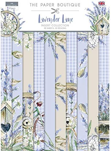 The Paper Boutique Lavender Lane-Insert Collection 1