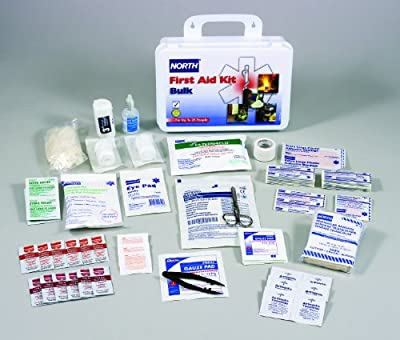 North by Honeywell 019702-0002L 25 person Kit, Bulk, Plastic from North