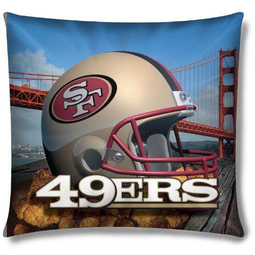 (San Francisco 49ers NFL Photo Real Toss Pillow (18x18