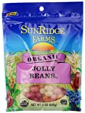 Sunridge Farms Organic Jolly Beans, 9 Ounce Bag (Pack of 12)