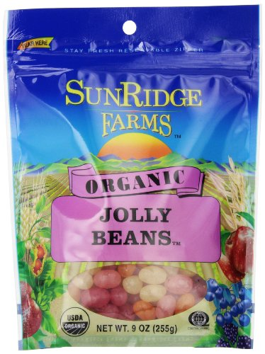 Sunridge Farms Organic Jolly Beans, 9 Ounce Bag (Pack of 12) by SunRidge Farms