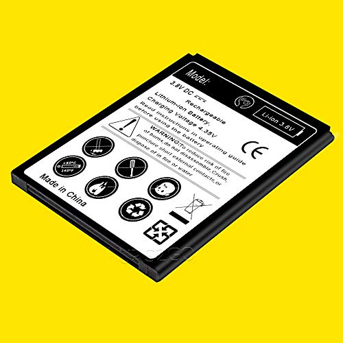 ([ZTE ZFive 2 Battery] High Power 3000mAh Excellent Replace Standard Li-ion Battery for ZTE ZFive 2 LTE Z836BL Smartphone)