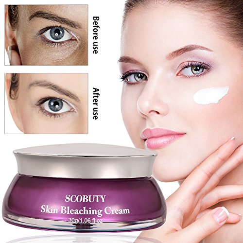Skin Lightening Cream, Whitening Cream, Brightening Cream, Melasma Treatment Cream, Freckle Removal Cream For Face Brightening, Dark Spot, Skin Pigmentation, Age Spots For Face and Body from SCOBUTY