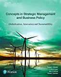 img - for Concepts in Strategic Management and Business Policy: Globalization, Innovation and Sustainability (15th Edition) book / textbook / text book