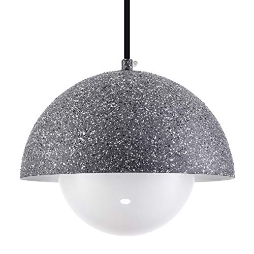 PAPAYA Small Chandeliers Simple Original Retro Industrial Terrazzo Pendant Lighting Cement Farmhouse Light Fixture