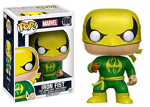 Pop Marvel Iron Fist Vinyl