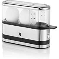 WMF Keukenminis 2-eierkoker, eierkoker voor 1-2 eieren, met eipick, BPA-vrij Tritan, 250 W, mat cromargan