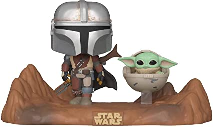 The Mandalorian The Child with Canister Funko Pop Deluxe Star Wars