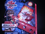 : Series 1 Bakugan Battle Brawlers Pyrus Red Dragonoid 520G with Bakuclip